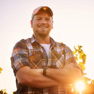 Happy farmer photo
