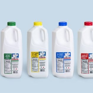 Valleyview Milk lineup partial