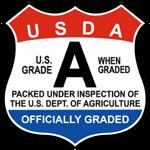 USDA grade A icon